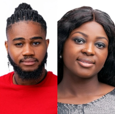 [Video] BBNaija Lockdown Housemates, Praise And Ka3na Having $ex