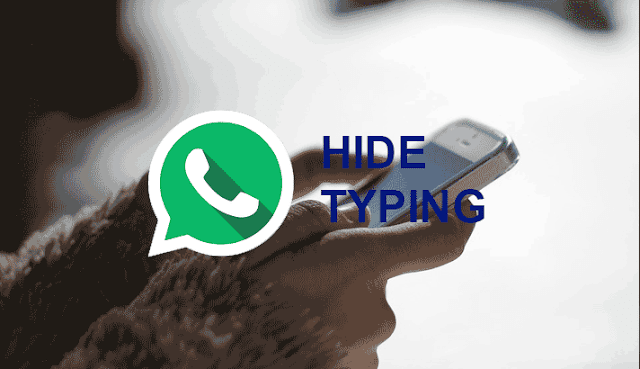 we can hide typing status in Whatsapp