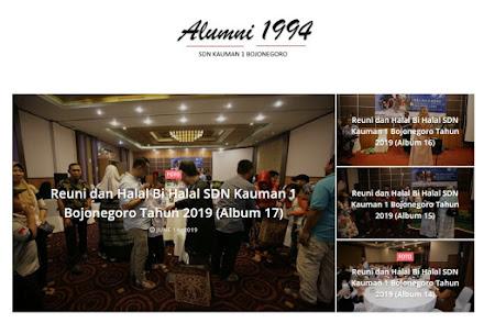 Alumni SDN Kauman 1 Bojonegoro
