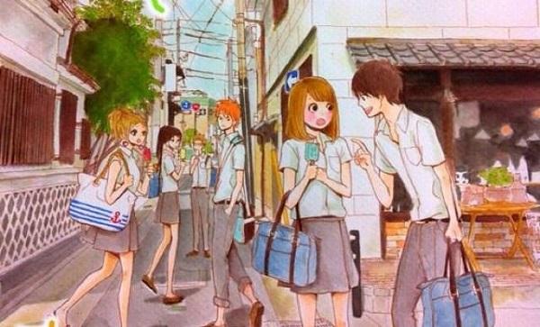 orange manga