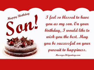 Best birthday wishes for son 2019