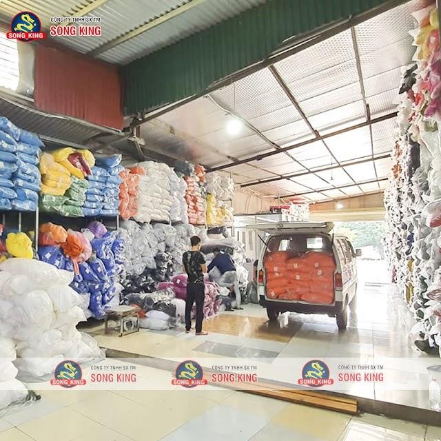 Vải thun Cotton 100% 4 chiều số lượng lớn