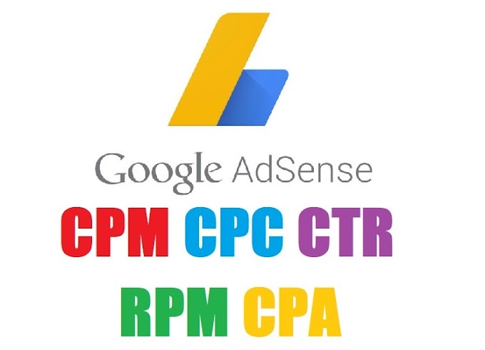 Meaning Of CPM, CPC, CTR, RPM, CPA in Google Adsense?