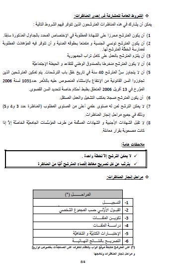 التقديم مناظرة خارجيّة لشركة التونسية للكهرباء والغاز 2015 ...