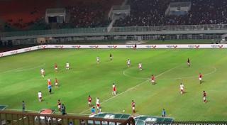 Hasil Akhir Timnas U 23 Indonesia VS bahrain Dengan Sekor 1-0