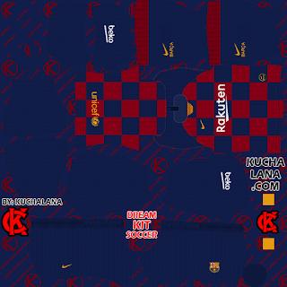 F.C. Barcelona Kits 2019/20 -  DLS20 Kits