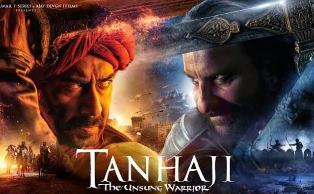 Tanhaji Full movie download Leaked Online By Tamilrockers