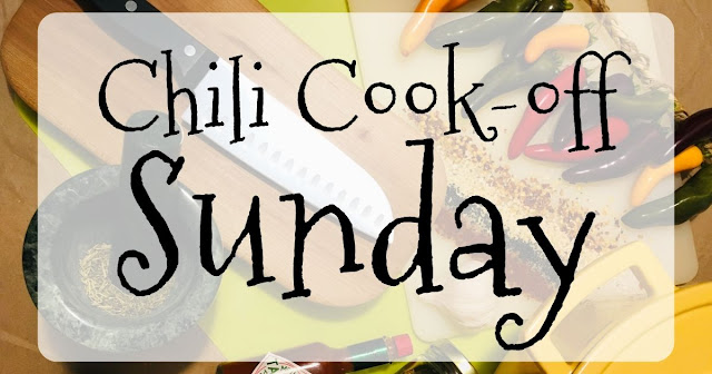 Your Best Halloween Ever, Chili Cook-off Sunday, Chili Recipes