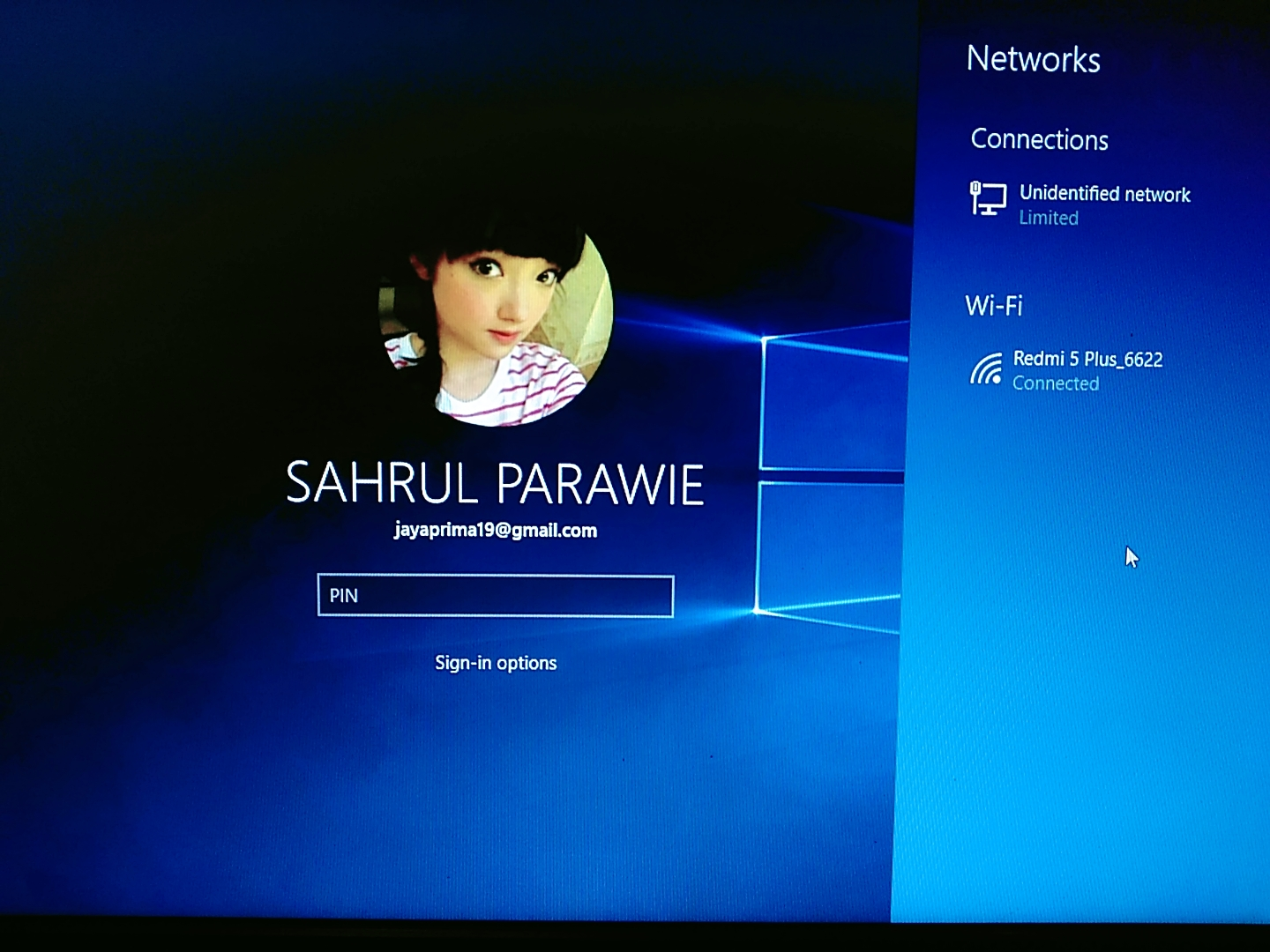 Cara Membuat PIN Kemanan Sign-In Windows 10 Online