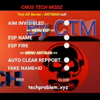 cnus tech mod ff apk