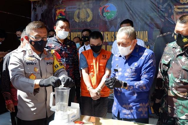 Polres Sumbawa musnahkan ribuan barang bukti kejahatan