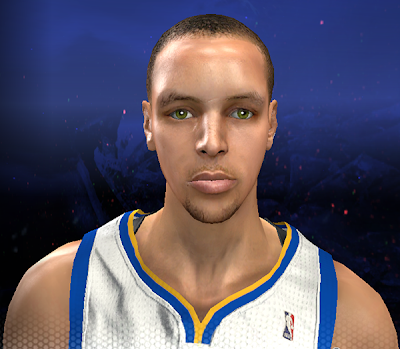 NBA 2K14 Stephen Curry Next-Gen Face