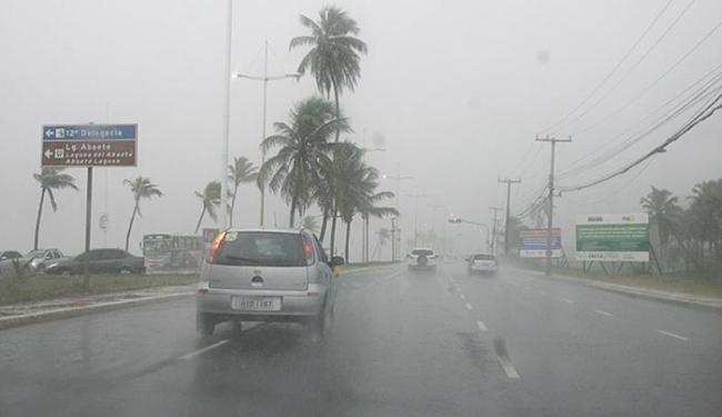 Chuva em Salvador está prevista até a próxima quarta-feira