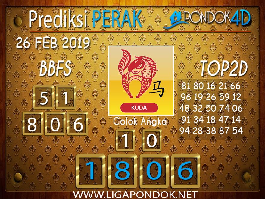 Prediksi Togel PERAK PONDOK4D 26 FEBRUARI 2019
