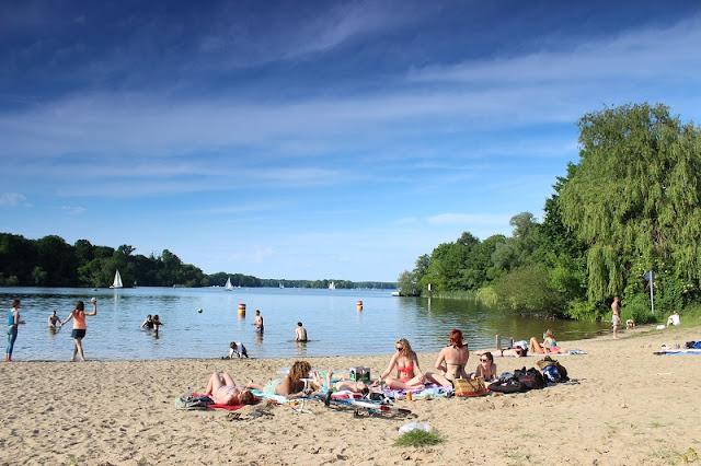 Tegeler See em Berlim
