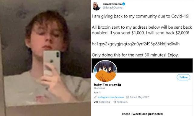 Sukses Bajak Twitter Barack Obama hingga Elon Musk, Remaja Inggris Raup Bitcoin Senilai Rp1,4 Miliar
