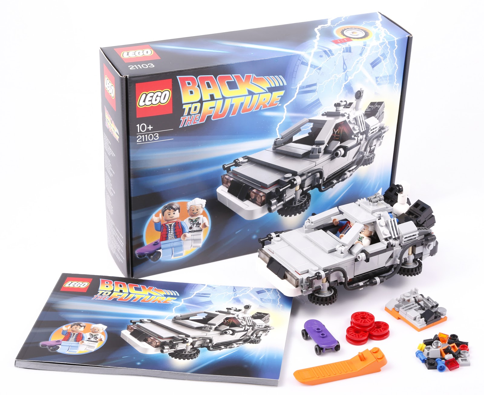 The Brickverse Review 21103 Back To The Future Delorean Time Machine