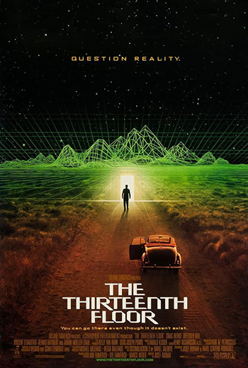 The Thirteenth Floor 1999 Dual Audio ORG Hindi 480p BluRay 300MB ESubs poster