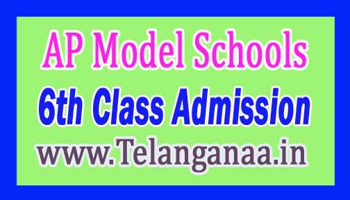AP-Model School 6th Class Admission Registration APMS Entrance Test 2017-18