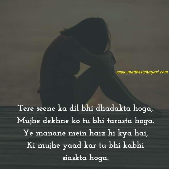 Hindi Sad Shayari Status