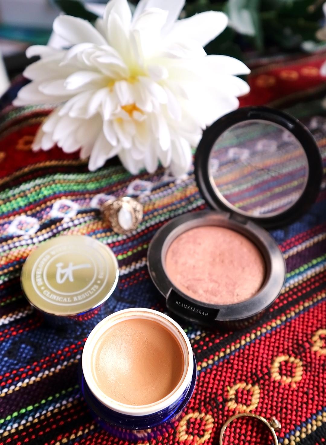 It Cosmetics Bye Bye Undereye Corrector and MAC Warm Soul review