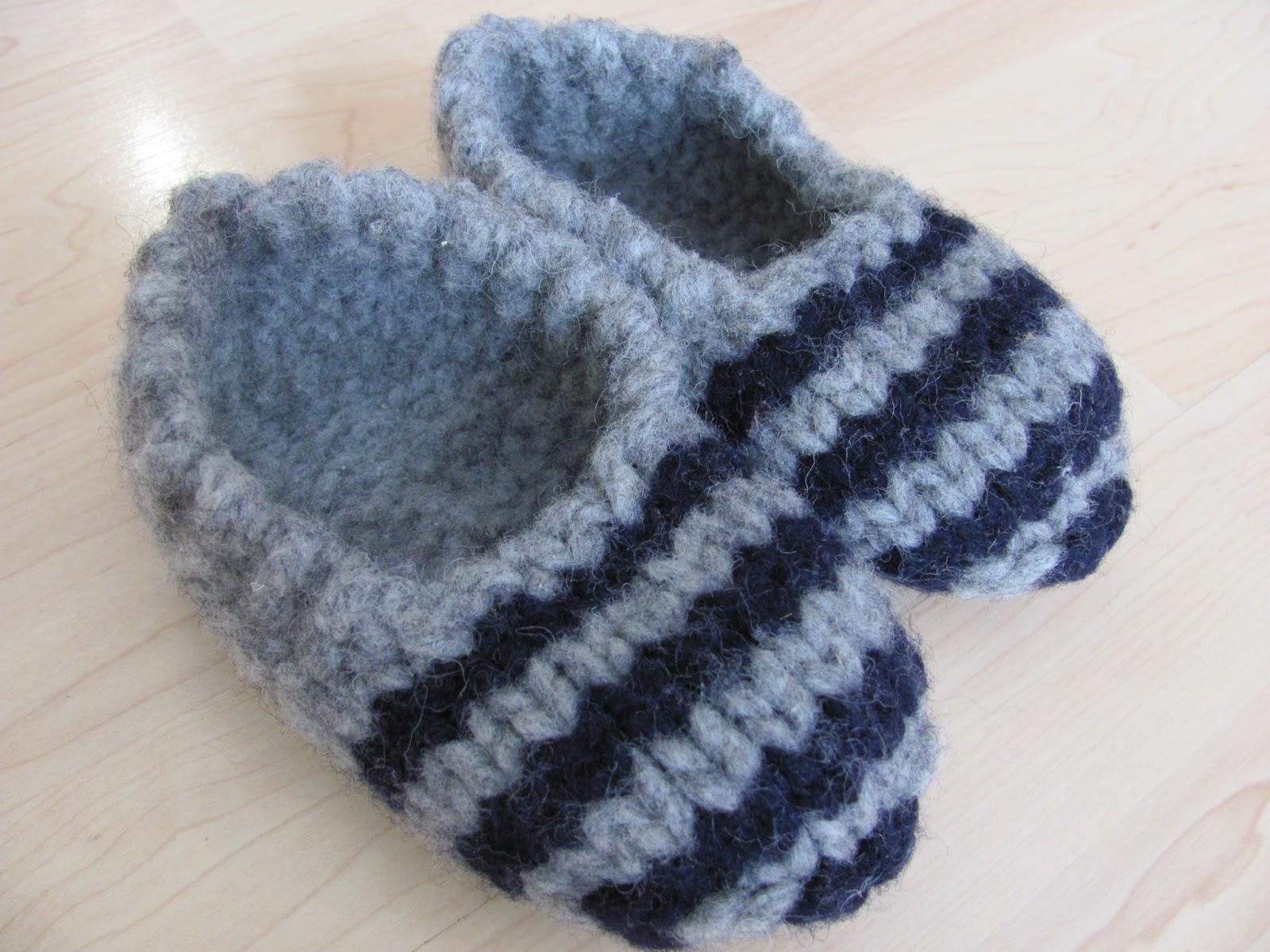 L 39 univers d 39 une tricoteuse pantoufles extr mes et magic - Grosse laine pour tricoter sans aiguille ...
