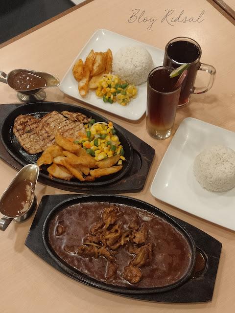 Steak 21 di Centre Point - Perdana Mencoba Steik di Plaza : Menu 03