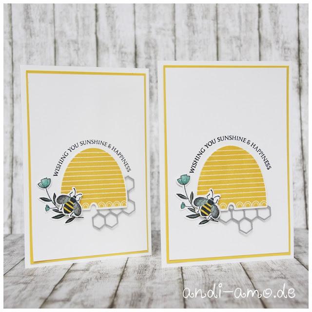 Karte Stampin Up Honey Bee Bienenstock