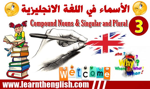 انواع الأسماء في اللغة الانجليزية Nouns In The English Language