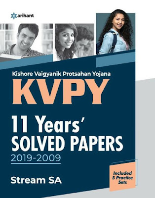 KVPY 11 Years(2019- 2009)Solved Paper