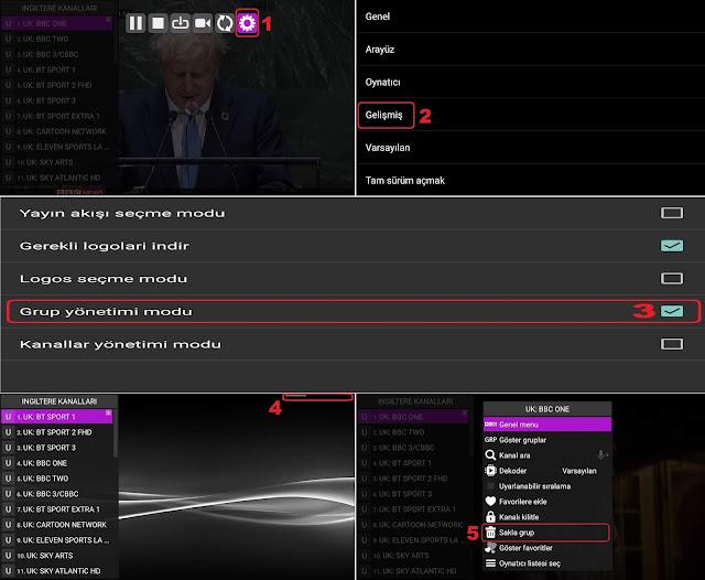 Iptv Kanal Sıralama ( Perfect Player )