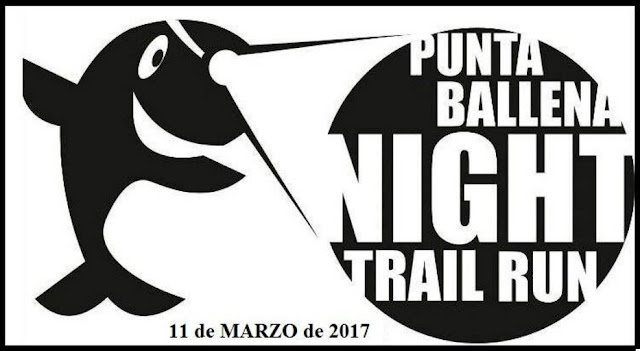 Punta Ballena Night trail run (Maldonado, 11/mar/2017)
