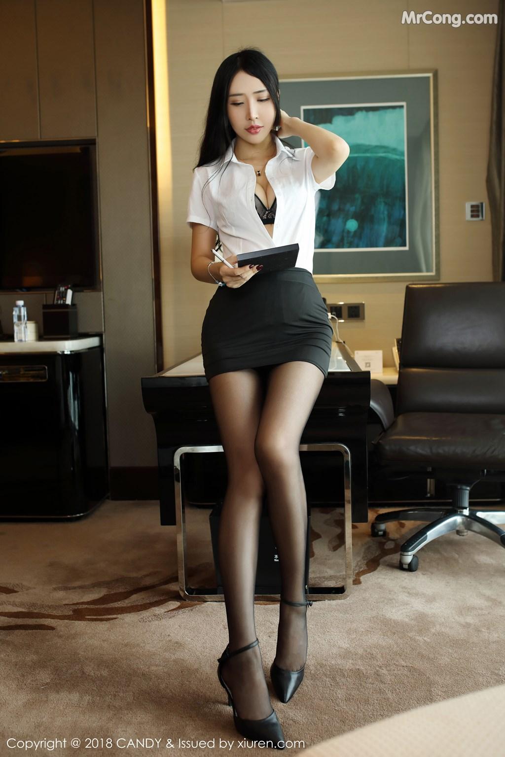 Image CANDY-Vol.063-Yu-Xi-Meng-MrCong.com-002 in post CANDY Vol.063: Người mẫu Yu Xi Meng (俞夕梦) (38 ảnh)