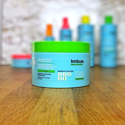 Curl Restoring Intensive Mask Imbue Haarpflege für welliges und lockiges Haar nach der Curly Girl Methode