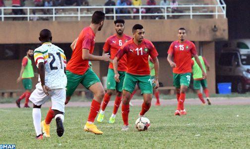 مباراة ودية .. المنتخب الوطني للاعبين المحليين يفوز على المنتخب المالي 1-0 بنيامي