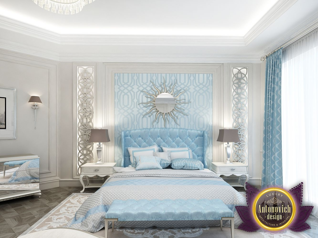 Kenyadesign: Master Bedroom design in Kenya by Luxury Antonovich Design