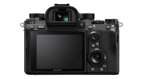 Sony A9 rear