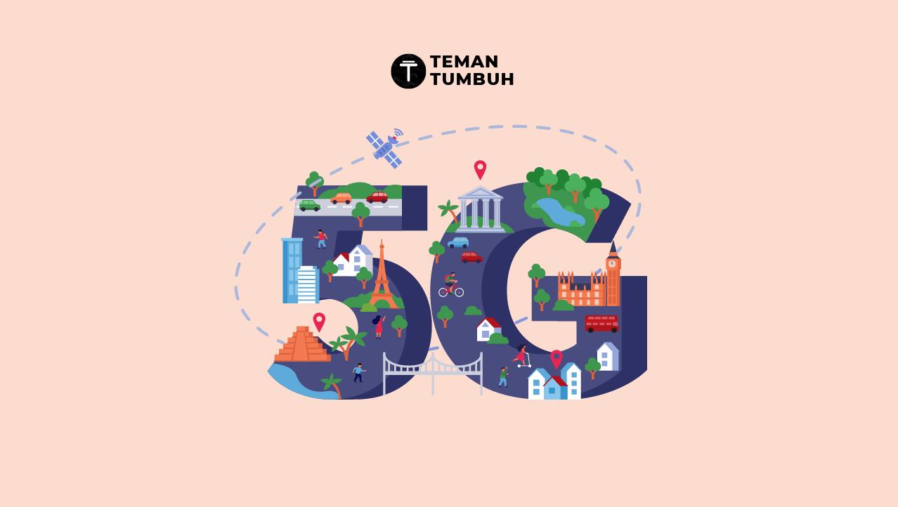 Jaringan Internet 5G hadir di Indonesia