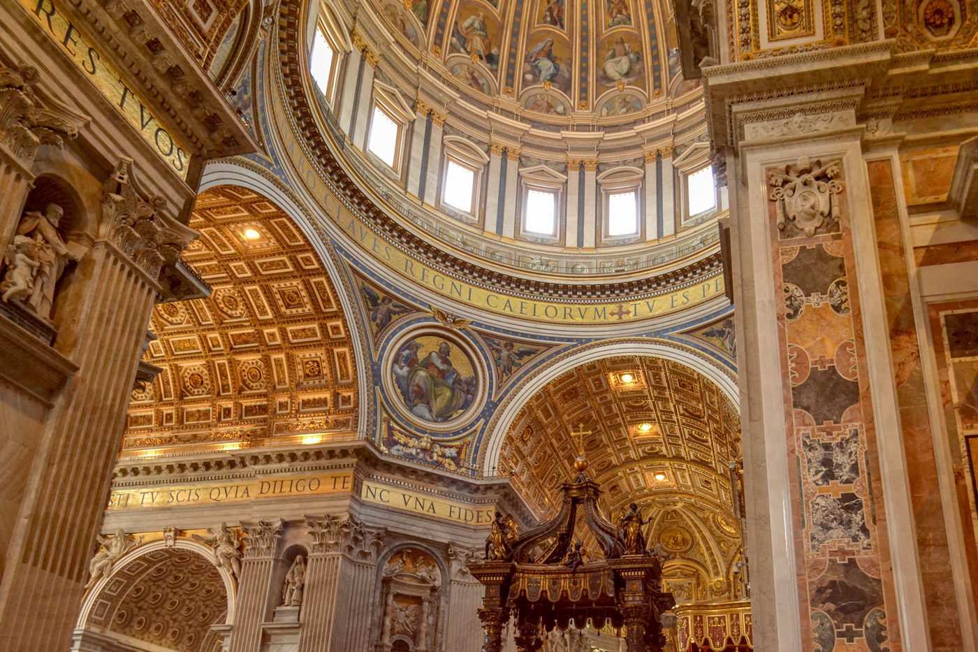 Interior of the Basilica of St. Peter