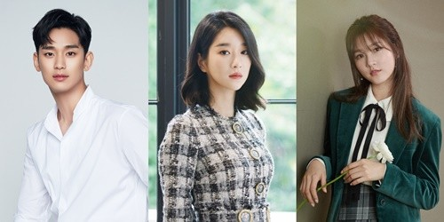 Actors Kim Soohyun, Seo Yeji and Kim Saeron have signed exclusive contracts with the new entertainment company Gold Medalist.