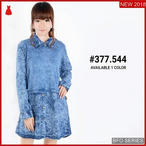 BFO246B36 BAJU Model KEMEJA JEANS Jaman Now FASHION BMGShop