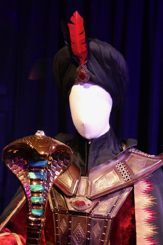 Aladdin Jafar movie costume detail