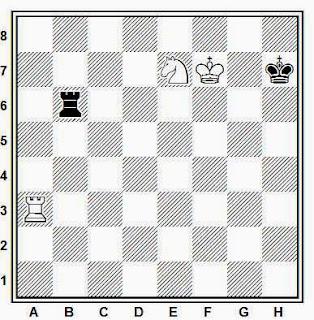 Final didáctico de ajedrez compuesto por Joaquim Travesset (2007)