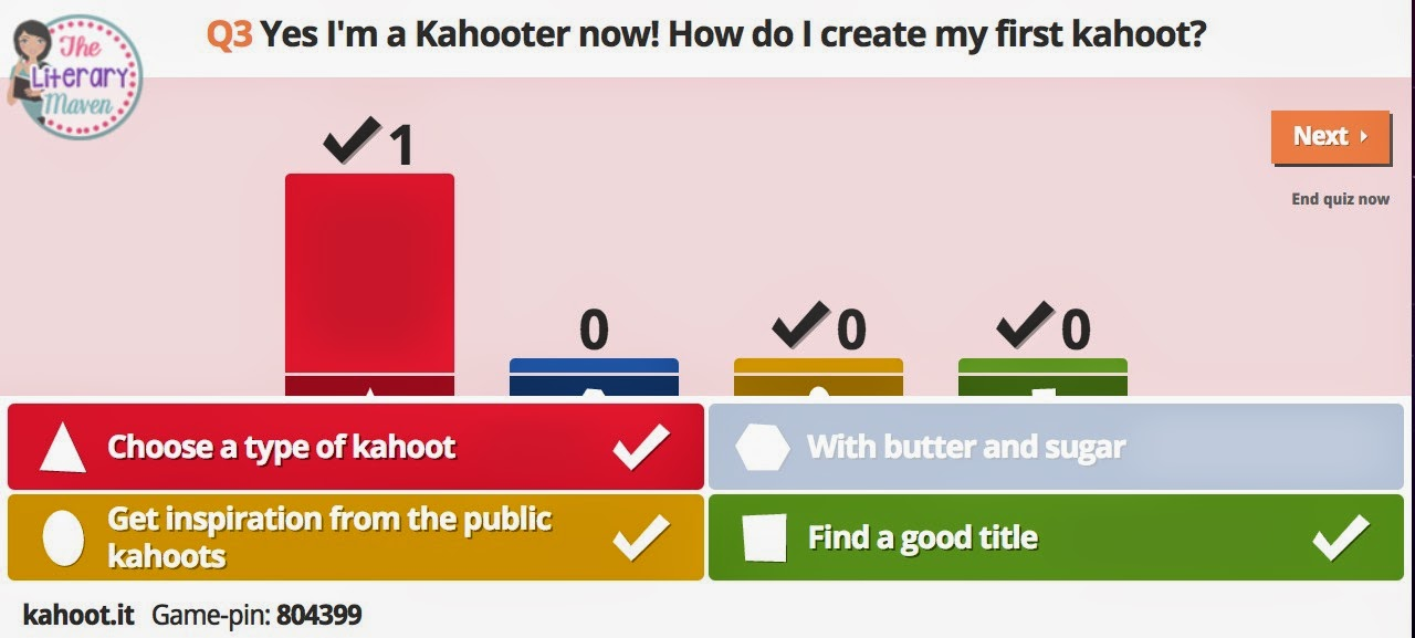 You Oughta Know About   Kahoot! - The Literary Maven
