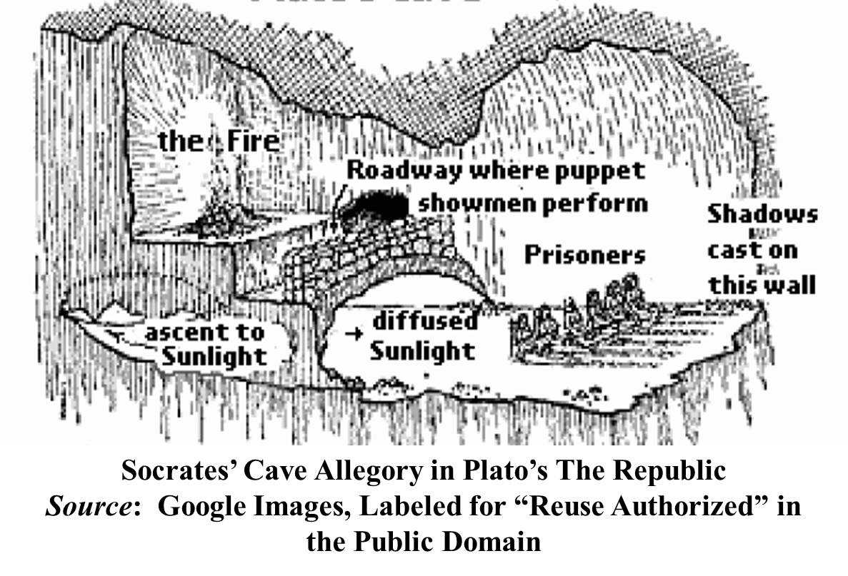 platos allegory of the cave compared Free college essay modern plato's cave in the allegory of the den written by plato in his writing he explains human beings live in an underground.