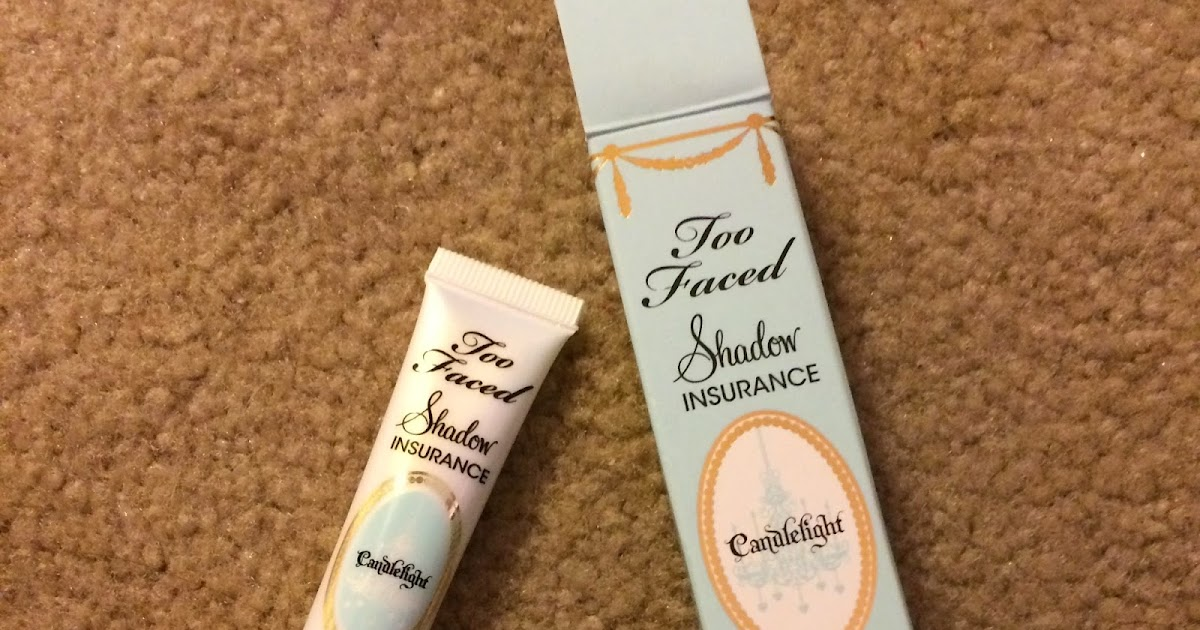 Shadow Insurance Softly Illuminating Eyeshadow Primer - Candlelight by Too Faced #16