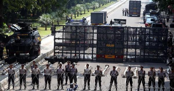 12.000 Personel Gabungan Disiapkan untuk Pengamanan Demo Tolak Omnibus Law di Istana Negara
