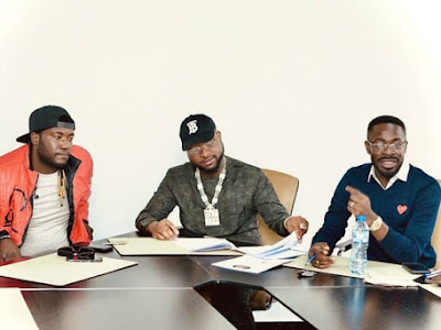 Davido Signs May D to DMW