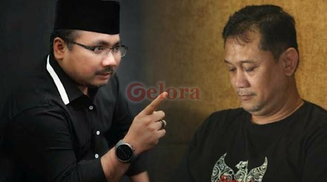 Denny Zulfikar 'Dijewer' Yaqut Ansor gegara Banding-bandingkan HRS dan Gus Mus