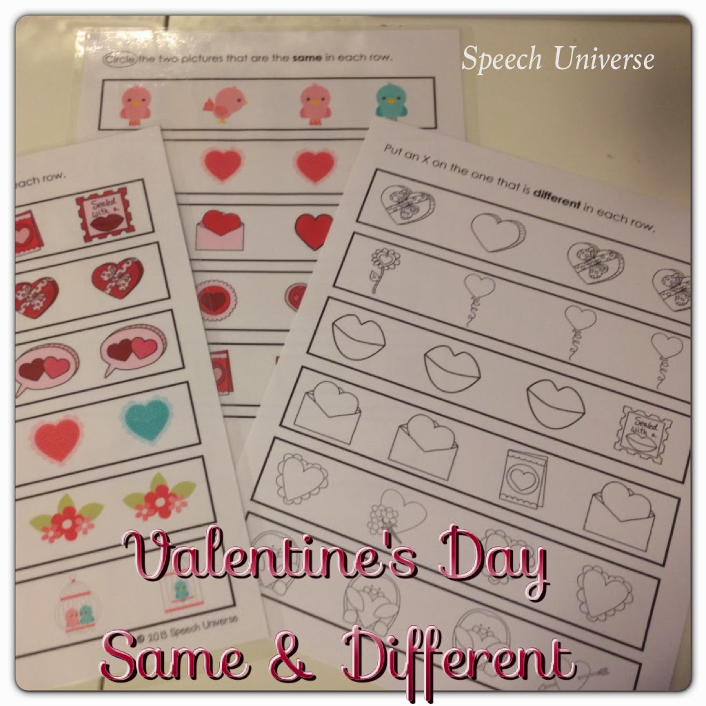 Valentine S Day Same And Different